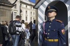 Τσεχική φρουρά Στοκ φωτογραφία με δικαίωμα ελεύθερης χρήσης