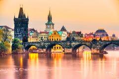 Πράγα, Δημοκρατία της Τσεχίας στοκ φωτογραφίες