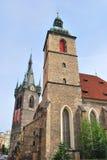 Πράγα. Εκκλησία του ST Jindrich και St.Kunguta Στοκ εικόνα με δικαίωμα ελεύθερης χρήσης