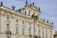 Πράγα κάστρο Πράγα Παλάτι Αρχιεπισκόπου ` s Στοκ φωτογραφία με δικαίωμα ελεύθερης χρήσης