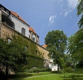 Πράγα - κήποι Κάστρων της Πράγας Στοκ εικόνες με δικαίωμα ελεύθερης χρήσης