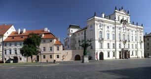Πράγα - παλάτι του Αρχιεπισκόπου Στοκ Εικόνα