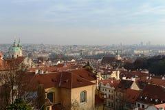 Πράγα Όψεις της πόλης στοκ φωτογραφία με δικαίωμα ελεύθερης χρήσης