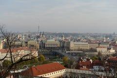 Πράγα Όψεις της πόλης στοκ φωτογραφίες με δικαίωμα ελεύθερης χρήσης