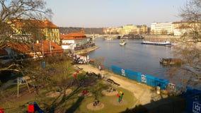Πράγα Στοκ εικόνα με δικαίωμα ελεύθερης χρήσης