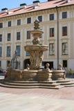 Πράγα Castle_fountain Στοκ Φωτογραφίες
