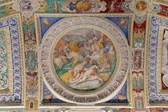 Πράξεις που ολοκληρώνονται αξιοσημείωτες από το Farnese σε Orbetello Στοκ φωτογραφία με δικαίωμα ελεύθερης χρήσης