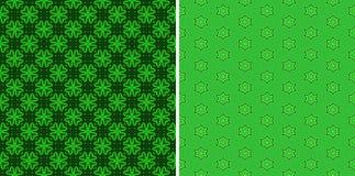 Πράσινα άνευ ραφής πρότυπα Στοκ φωτογραφία με δικαίωμα ελεύθερης χρήσης