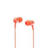Πράσινα ακουστικά Στοκ Φωτογραφία