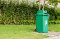 Πράσινα απορρίματα Στοκ φωτογραφία με δικαίωμα ελεύθερης χρήσης
