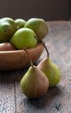 πράσινα αχλάδια Στοκ εικόνες με δικαίωμα ελεύθερης χρήσης