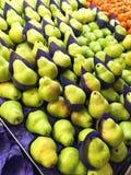 Πράσινα αχλάδια Packham στοκ φωτογραφία