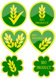 πράσινα εικονίδια διάφορα Στοκ Εικόνες