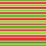 Πράσινα και κόκκινα λωρίδες Στοκ φωτογραφία με δικαίωμα ελεύθερης χρήσης