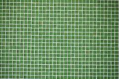 πράσινα κεραμίδια μωσαϊκών &g Στοκ Εικόνα