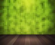 Πράσινα κεραμίδια στο εσωτερικό τοίχων Στοκ φωτογραφίες με δικαίωμα ελεύθερης χρήσης