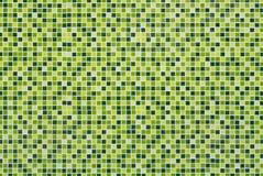 Πράσινα κεραμίδια μωσαϊκών Στοκ εικόνες με δικαίωμα ελεύθερης χρήσης