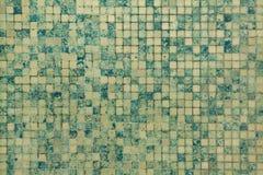 πράσινα κεραμίδια μωσαϊκών Στοκ Εικόνες
