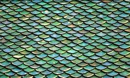 Πράσινα κεραμίδια στεγών Στοκ φωτογραφίες με δικαίωμα ελεύθερης χρήσης