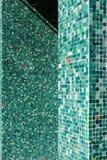 πράσινα κεραμίδια Στοκ Εικόνα