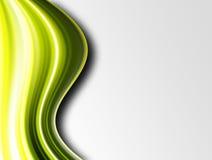 πράσινα κύματα Στοκ φωτογραφίες με δικαίωμα ελεύθερης χρήσης