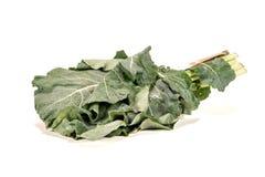Πράσινα λάχανων στο λευκό στοκ εικόνες με δικαίωμα ελεύθερης χρήσης