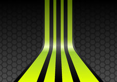 πράσινα λωρίδες ασβέστη διανυσματική απεικόνιση