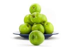 Πράσινα μήλα Στοκ εικόνα με δικαίωμα ελεύθερης χρήσης