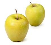 Πράσινα μήλα. Στοκ Φωτογραφία