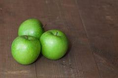 Πράσινα μήλα Στοκ φωτογραφίες με δικαίωμα ελεύθερης χρήσης