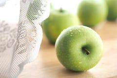 Πράσινα μήλα Στοκ Φωτογραφία
