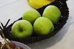 Πράσινα μήλα Στοκ Εικόνα