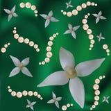 πράσινα μαργαριτάρια λου&la Στοκ Εικόνες
