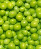 πράσινα μπιζέλια Στοκ Εικόνα