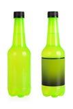 Πράσινα μπουκάλια ποτών στοκ εικόνες