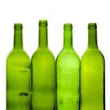 Πράσινα μπουκάλια Στοκ φωτογραφία με δικαίωμα ελεύθερης χρήσης
