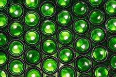 Πράσινα μπουκάλια μπύρας Στοκ εικόνα με δικαίωμα ελεύθερης χρήσης