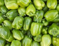 πράσινα πιπέρια κινηματογρ&a Στοκ φωτογραφία με δικαίωμα ελεύθερης χρήσης
