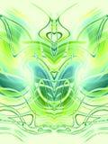 πράσινα πρότυπα συμμετρικά διανυσματική απεικόνιση