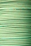 πράσινα σχοινιά πηνίων στοκ εικόνα με δικαίωμα ελεύθερης χρήσης