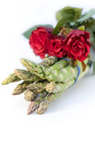 πράσινα τριαντάφυλλα δεσ& Στοκ Εικόνες