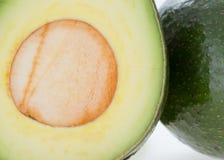 Πράσινα φρούτα αβοκάντο Στοκ Εικόνα