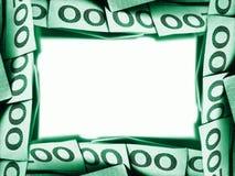 πράσινα χρήματα Στοκ φωτογραφίες με δικαίωμα ελεύθερης χρήσης