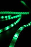 Πράσινα leds Στοκ Φωτογραφία