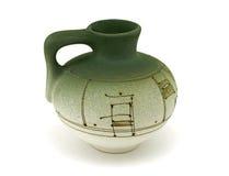 πράσινα vases στοκ φωτογραφίες