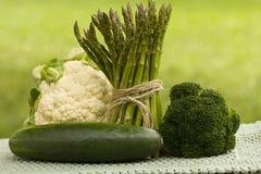 πράσινα veggies Στοκ φωτογραφίες με δικαίωμα ελεύθερης χρήσης