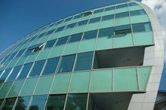 πράσινα Windows Στοκ εικόνα με δικαίωμα ελεύθερης χρήσης