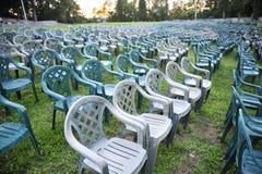 Πράσινες έδρες Στοκ φωτογραφία με δικαίωμα ελεύθερης χρήσης