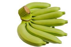 Πράσινες ακατέργαστες μπανάνες Στοκ εικόνα με δικαίωμα ελεύθερης χρήσης