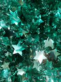 Πράσινες διακοσμήσεις για το χρόνο Χριστουγέννων Στοκ φωτογραφία με δικαίωμα ελεύθερης χρήσης